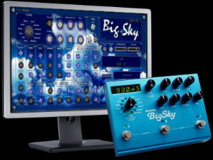 CTRLR panel Strymon Big Sky V.1.0
